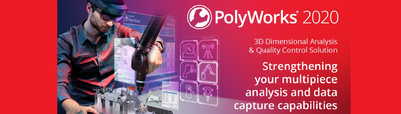 Wat is er nieuw in PolyWorks 2020?